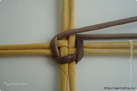Плетение из газетных трубочек. Птичка СИНИЧКА (4) (520x345, 69Kb)