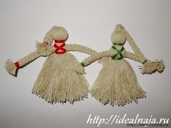 Куклы своими руками на веревке