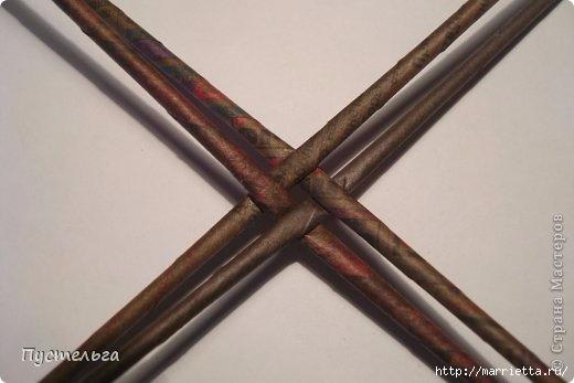 Плетение СНЕГИРЯ из газетных трубочек (1) (520x347, 77Kb)