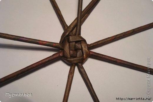 Плетение СНЕГИРЯ из газетных трубочек (2) (520x347, 71Kb)