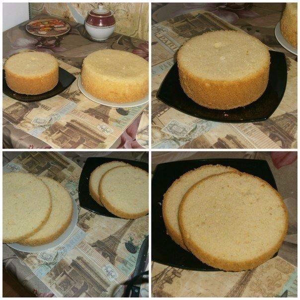 Идеальный пышный бисквит для тортов (604x604, 85Kb)