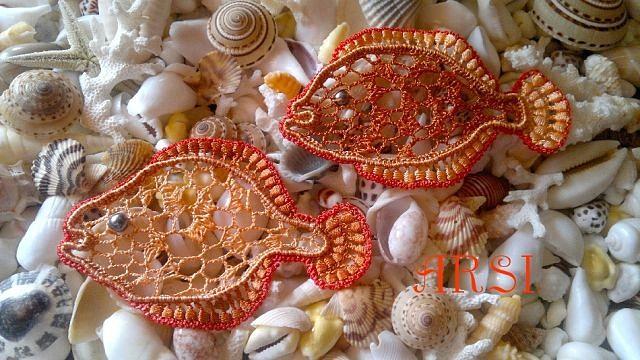 爱尔兰花边单元教程:海洋动物 - maomao - 我随心动