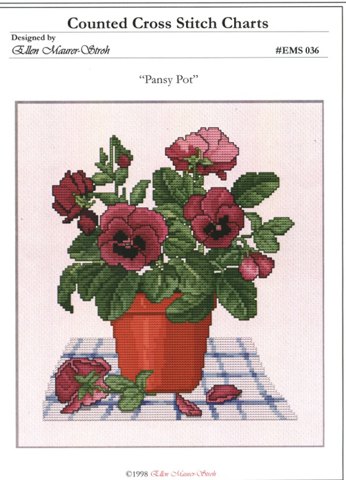 _036 Pansy Pot (504x700, 332Kb)
