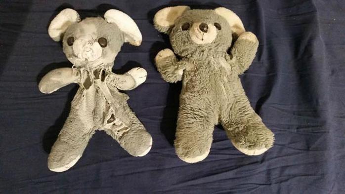 Одинаковые игрушки с разницей в возрасте более 25 лет