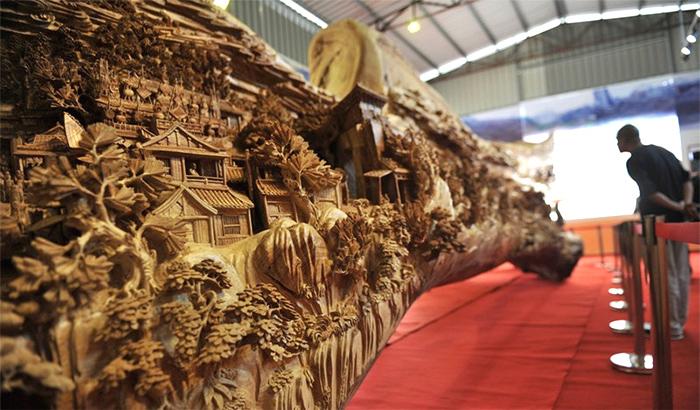деревянная скульптура 7 (700x410, 338Kb)
