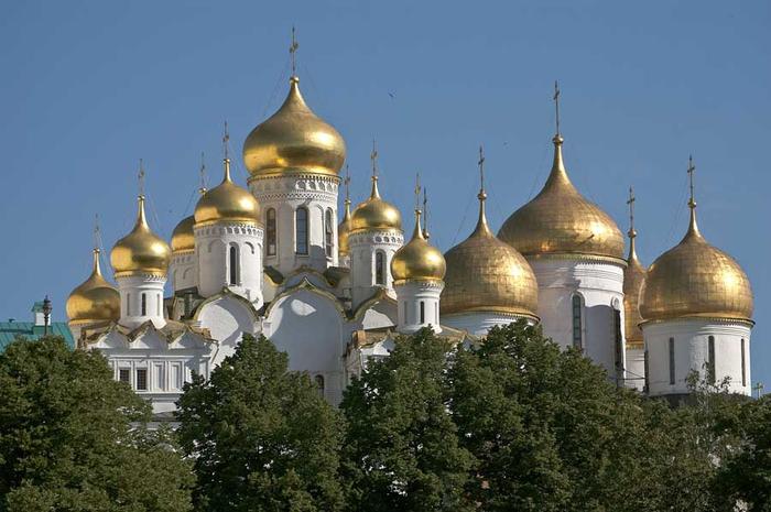 Москва золотоглавая (700x465, 270Kb)