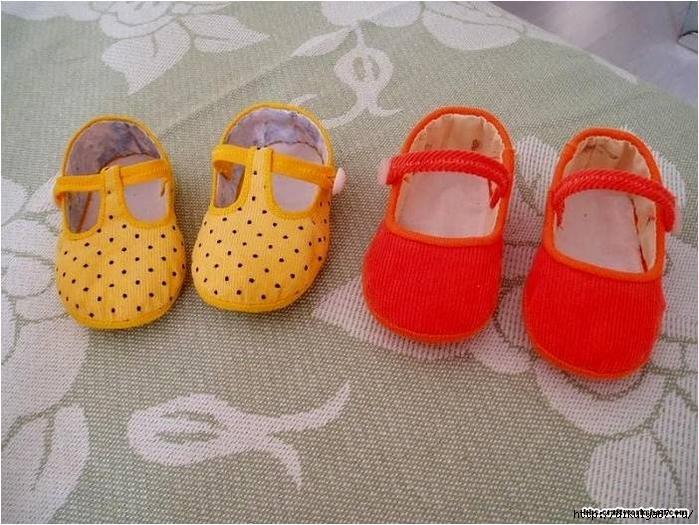 Как сшить туфельки