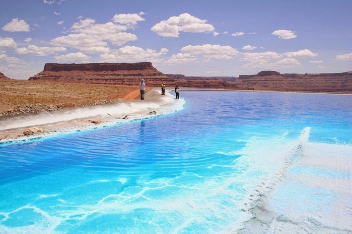 добыча соли пруды-испарители в юте 2 (700x466, 340Kb)