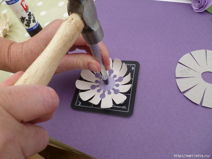 Цветочный ночник из картона (14) (700x525, 223Kb)