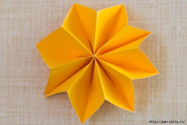 Цветная гирлянда из бумажных звезд (11) (620x413, 133Kb)