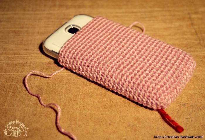 Вяжем крючком чехол для мобильного телефона (7) (700x478, 293Kb)