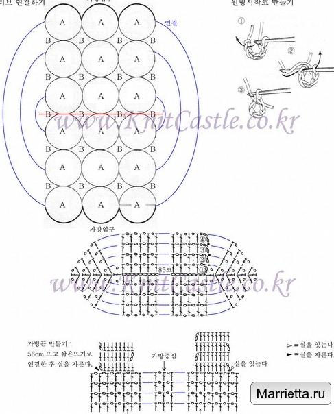 Летняя сумочка крючком. Схема (1) (487x604, 339Kb)