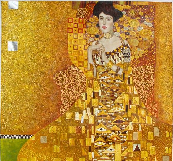 Gustav-Klimt-«Adele-Bloch-bauer-I» (586x545, 250Kb)