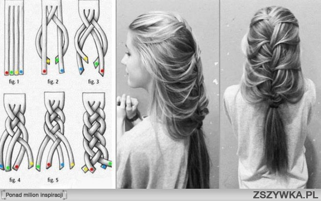 Фото причёска в школу своими руками
