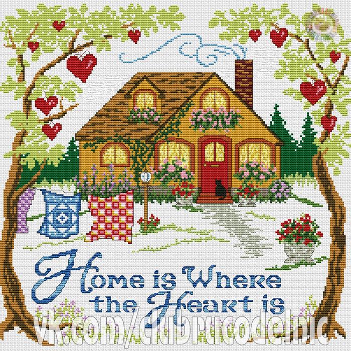 Дом там где сердце (700x700, 855Kb)