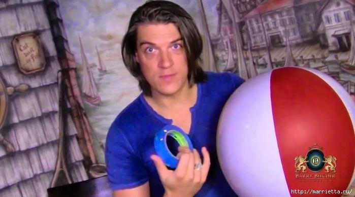 Воздушный шар своими руками для детской комнаты (4) (700x388, 177Kb)