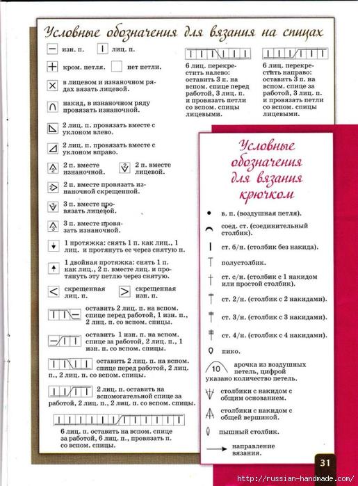 Узоры для вязания. Журнал со схемами (30) (515x700, 263Kb)