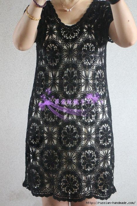 Летнее платье крючком со схемой (2) (466x700, 308Kb)