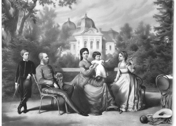 The_Austrian_Imperial_family_in_Goddollo (700x503, 59Kb)