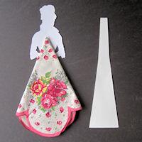 Винтажные открытки с дамами в юбках из носовых платков (29) (200x200, 33Kb)