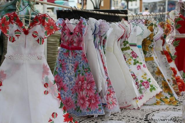 Винтажные открытки с дамами в юбках из носовых платков (50) (640x427, 247Kb)