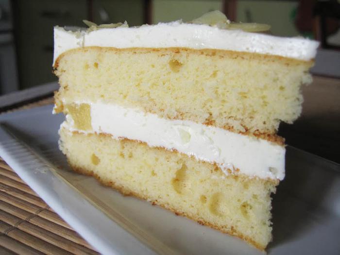 Крем со сметаной и сгущенкой для бисквитного торта