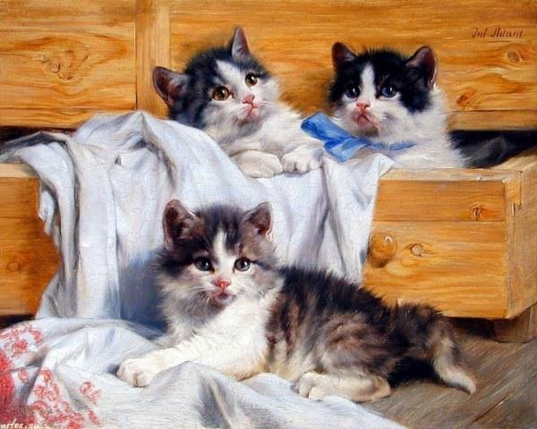 кошачья живопись (600x480, 83Kb)