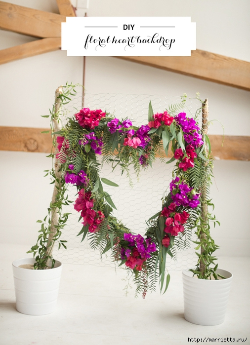 Красивая идея оформления бумажными цветами свадебного торжества (8) (506x700, 258Kb)
