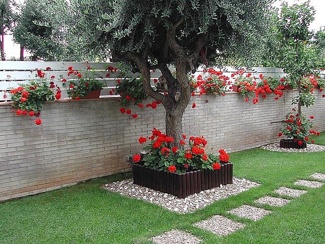 Оформление клумбы в саду своими руками и идеи