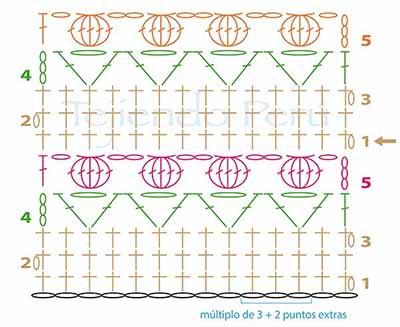 узоры для крючка 3- (400x327, 153Kb)