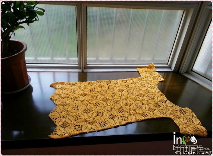 Летнее платье или длинная туника из ажурных мотивов (17) (700x514, 274Kb)