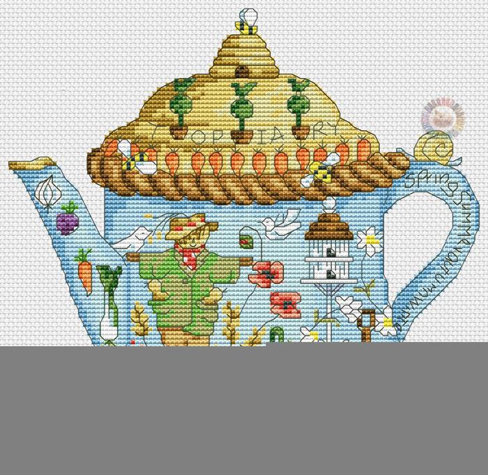 Garden teapot (700x681, 506Kb)