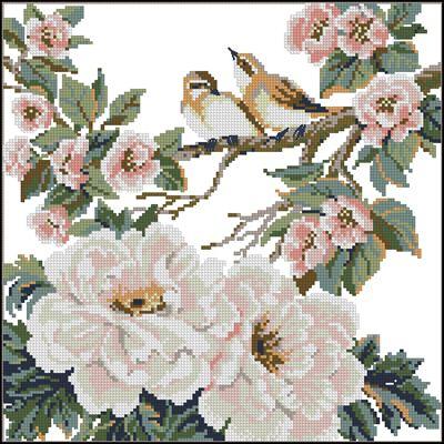 птицы на ветке1 (400x400, 183Kb)