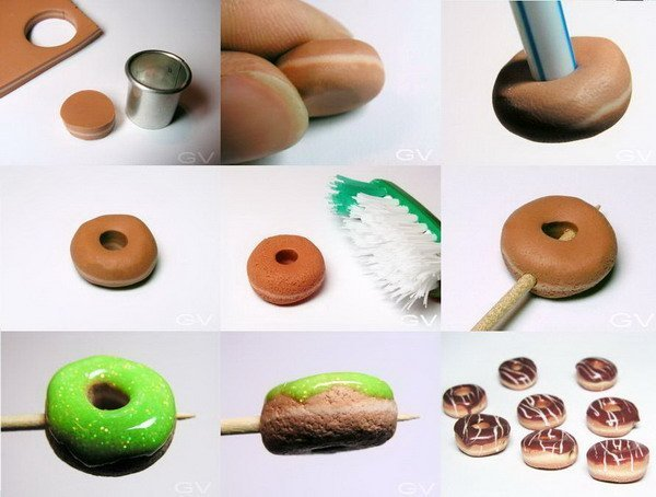 Еда из пластилина мастер класс фото