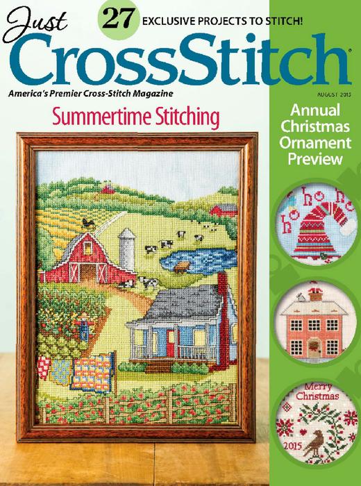 Журнал cross stitch вышивка