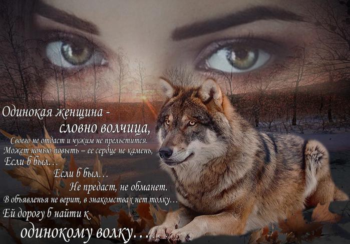 Волки и женщина