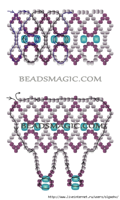 free-beading-necklace-tutorial-pattern-instructions-2 (420x700, 203Kb)