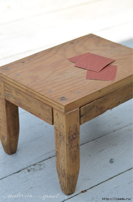 sanding wood footstool (463x700, 181Kb)