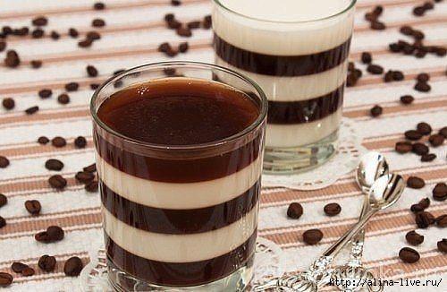 Кофейно молочное желе рецепты с фото