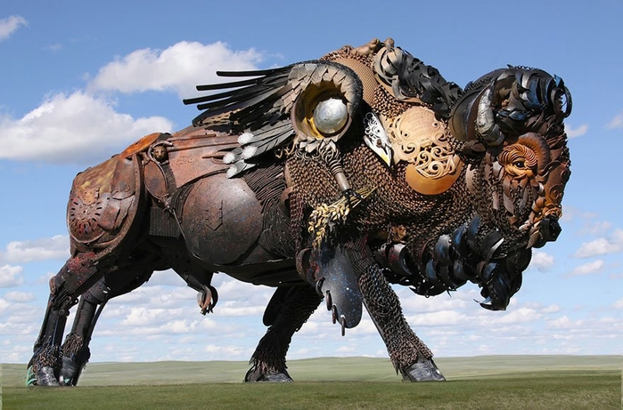 welded-scrap-metal-sculptures-john-lopez-19 (700x461, 246Kb)