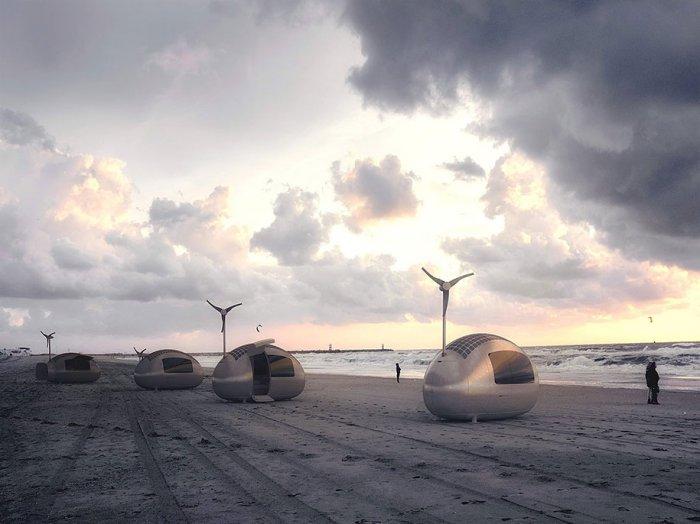 экологичный дом-капсула Ecocapsule 3 (700x524, 196Kb)