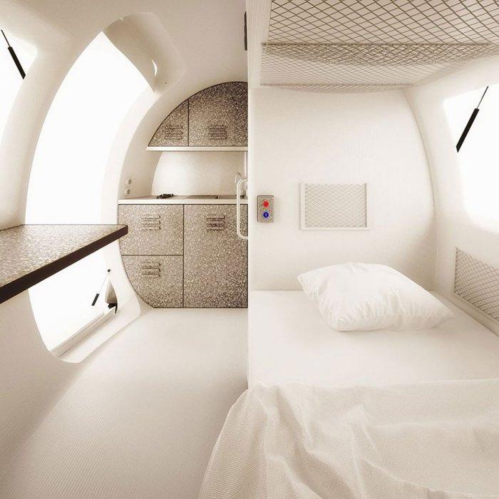 экологичный дом-капсула Ecocapsule 5 (700x700, 232Kb)