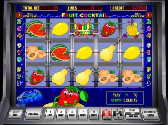 игровой автомат Fruit Cocktail (537x400, 48Kb)