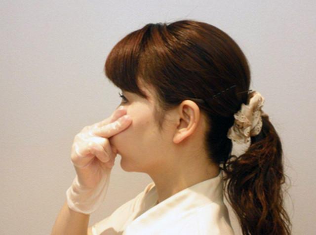 Массаж против носогубных складок с фото