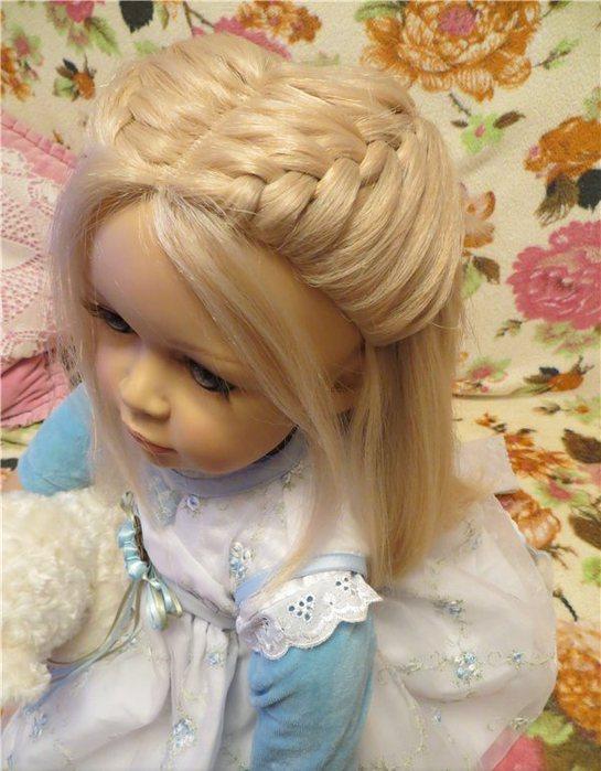 Как сделать куклы с короткими волосами причёски 918