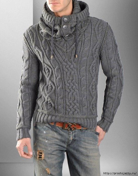 1460292250_Vyazanuyy_muzhskoy_pulover (549x699, 227Kb)
