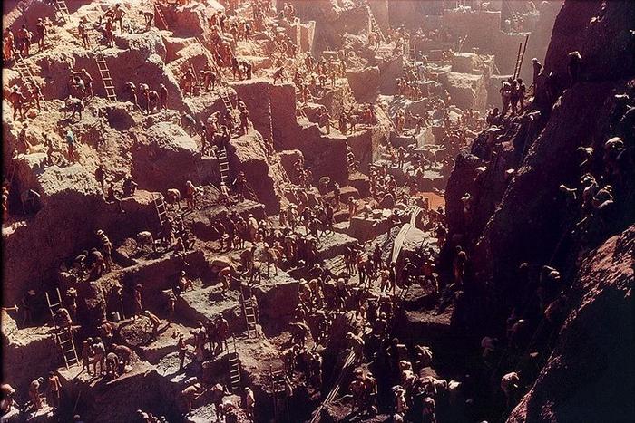 Gold Rush na foto Serra Pelada 7 (700x467, 470kb)