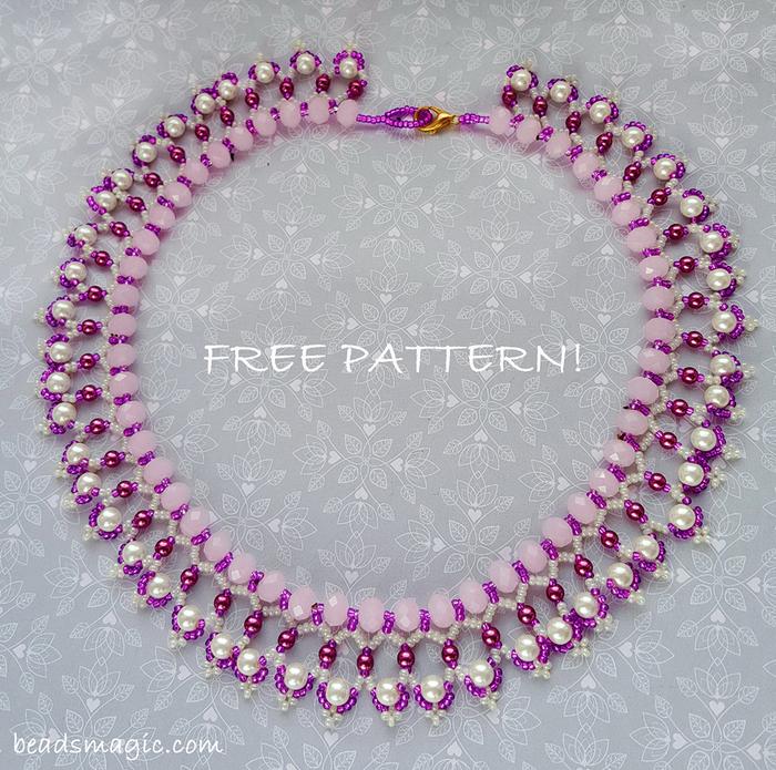 free-beading-necklace-tutorial-pattern-tila-drops-1 (700x695, 519Kb)