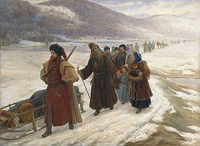 ....Avvakum_in_Siberia-Путь-А.по-Сибири-С.Милорадович1898г. (280x205, 60Kb)