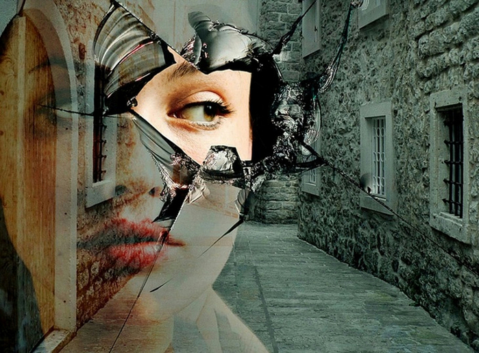 как ловить отражение в глазах